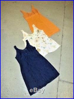 Vintage Wholesale Lot Women's Ladies Night Slip Dress Sale 100 x Bundle