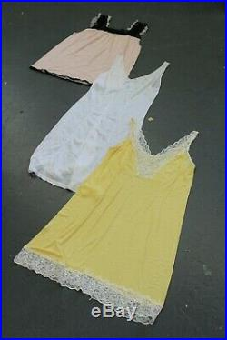 Vintage Wholesale Lot Women's Night Slip Underwear Dress Mix x 50