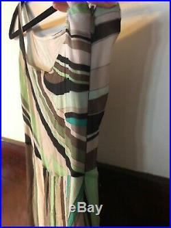 Vintage emilio pucci Silk Slip Dress