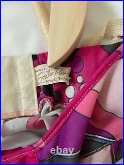 Vintage emilio pucci slip dress formfit rogers