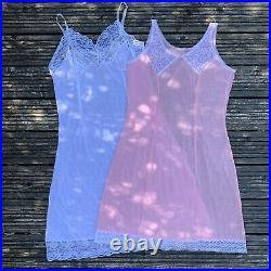 Vintage lingerie wholesale joblot slip dress bundle, 20 PIECES, Size S/M