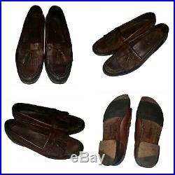 Vintage tassel 11 Cole Haan loafer slip on Made USA