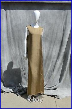 Vtg 1995 MARTIN MARGIELA Creation de Paris lining dress maxi slip dress Size 44