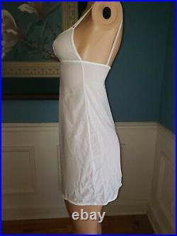 Vtg 90s Y2k Dolce Gabbana Mesh Stretch Slip Or Slip Dress Sheer M triangle neck