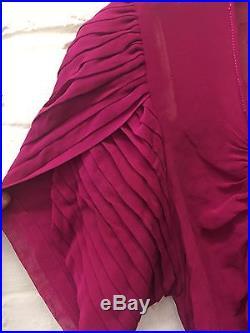 Vtg Antique 20s Pink Gown & Slip