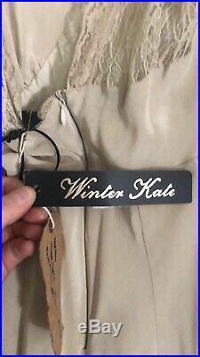 Winter Kate Vintage Slip Dress
