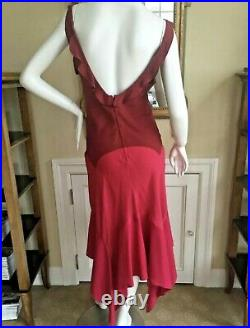 Yves Saint Laurent by Tom Ford Vintage Colorblock Slip Dress